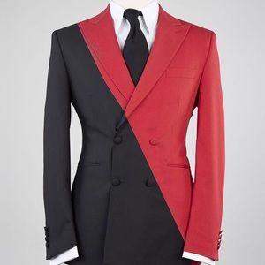 Other - Men's Black Red 2 Piece Suit